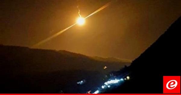 الجيش الإسرائيلي أطلق قنابل مضيئة قرب منطقة رأس الناقورة