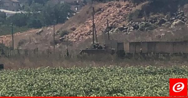 اجتياز عناصر من الجيش الاسرائيلي السياج مقابل متنزهات الوزاني