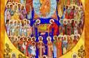عيد جميع القديسين في إيقونة