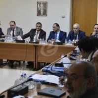 وفد من الملحقين الاقتصاديين في وزارة الخارجية في الجامعة اللبنانية - محمد سلمان