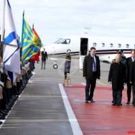 وصول الرئيس عون الى روسيا