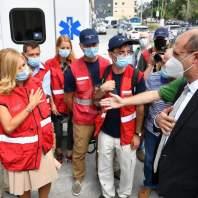 زيارةوزير الصحة الى مستشفى الكرنتينا- محمد سلمان