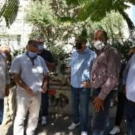 اعتصام للجمعية اللبنانية لأولياء الطلاب بالجامعات الأجنبية أمام مصرف لبنان - محمد سلمان