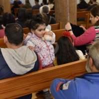 قداس رتبة الغسل في كنيسة مار مخايل - محمد سلمان