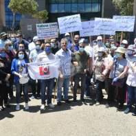 اعتصام لمتعاقدي اللبنانية امام وزارة التربية- محمد سلمان