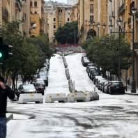 اليوم الاول للإقفال العام في لبنان