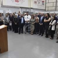 افتتاح مركز التدريب المهني المتخصص بالتبريد والتكييف - محمد سلمان