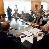 إجتماع مشترك في وزارة الأشغال لبحث موضوع تعرفة النقل - محمد سلمان
