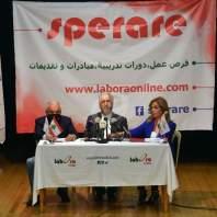 """مؤتمر صحافي لجمعية لابورا لاطلاق منصة """"Sperare"""" التي ترصد وظائف العمل-محمد سلمان"""