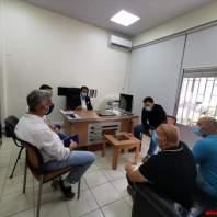 جان جبران تفقد إصلاح الأضرار في مؤسسة مياه بيروت في الأشرفية