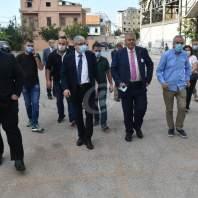 عبود والمجذوب ووزيرة خارجية إسبانيا يطلقون مشروع بناء وتركيب مدرسة جاهزة - محمد سلمان