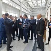 جولة لوزيري الأشغال والداخلية في المطار- محمد سلمان
