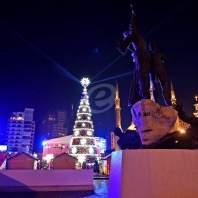 زينة الميلاد في ساحة الشهداء - محمد سلمان