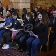 إحياء الجمعة العظيمة في دير مار انطونيوس القرقفي للكاثوليك في كفرشيما - محمد سلمان