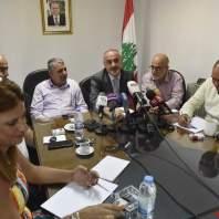 مؤتمر صحفي لنقيب المعلمين في المدارس الخاصة رودولف عبود-محمد سلمان