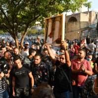 تحرك احتجاجي ومطلبي لفوج إطفاء بيروت أمام مبنى بلدية بيروت- محمد سلمان