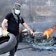 قطع الطرقات في بعض المناطق اللبنانية-محمد سلمان