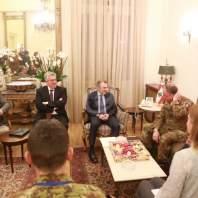 استقبالات باسيل في مقر وزارة الخارجية - قصر بسترس