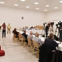 مؤتمر صحافي لاتحادات ونقابات قطاع النقل البري - محمد سلمان