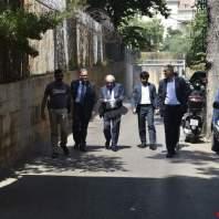 جولة لوزير العدل على نظارة قصر عدل بيروت- محمد سلمان
