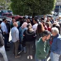 وقفة احتجاجية أمام وزارة الشؤون الاجتماعية-محمد سلمان