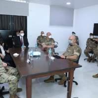 زيارة رئيس الحكومة حسان دياب للناقورة
