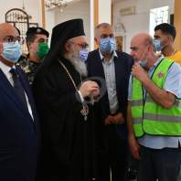 جولة البطريرك يازجي في بيروت - محمد سلمان