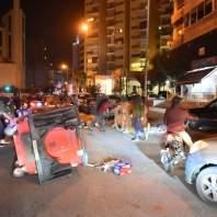 قطع طرقات بيروت