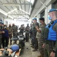 زيارة وزيرة الدفاع زينة عكر الى جنوب لبنان