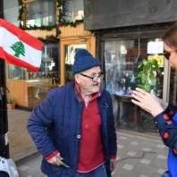 """جمعية """"ليبانون اوف"""" وزعت شتول زراعية من الجميزة لمار مخايل بمناسبة يوم الأرض – محمد سلمان"""