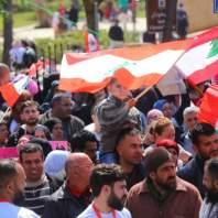 """مسيرة لحملة """"جنسيتي كرامتي"""" بعنوان """"جنسية بلادي من حق ولادي"""""""