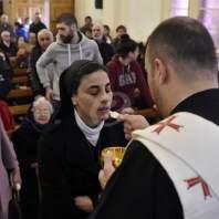 قداس الفصح في كنيسة مار جرجس - الدكوانة-محمد سلمان
