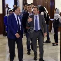 لقاء باسيل والمفتي دريان في دار الفتوى-محمد سلمان