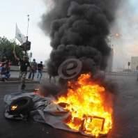 تحرك العسكريين المتقاعدين بوسط بيروت على هامش جلسة الموازنة-محمد سلمان