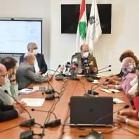 اجتماع اللجنة العلمية برئاسة حمد حسن - محمد سلمان