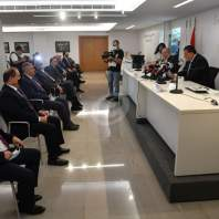 مؤتمر صحافي للهيئات الاقتصادية تحت عنوان ما ضاع حق وراءه مطالب-محمد سلمان