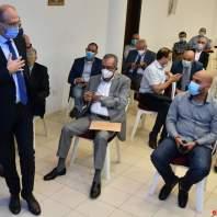 مؤتمر صحافي لوزير الصحة حول التجهيزات والهبات للمستشفيات الحكومية- محمد سلمان