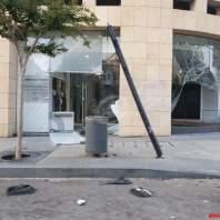اضرار انفجار مرفأ بيروت