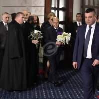 رتبة سجدة الصليب في جامعة الروح القدس بمشاركة الرئيس ميشال عون - محمد سلمان