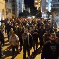 مسيرة من أمام مصرف لبنان بإتجاه وزارة الداخلية- محمد سلمان
