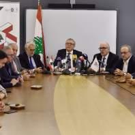 مؤتمر صحفي لجمعية الصناعيين اللبنانيين-محمد سلمان
