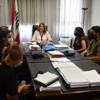 وزيرة العدل التقت وفدا من أهالي شهداء فوج إطفاء بيروت - محمد سلمان