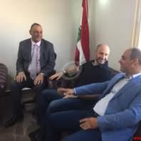 وزيرالبيئة تفقد مطمر النفايات في غزة وإجتمع مع اتحاد بلديات السهل