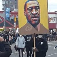 تظاهرات احتجاجية بمنطقة بروكلين في نيويورك