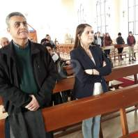 قداس الفصح في كنيسة سيدة النجاة في الكفور