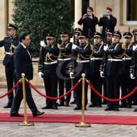 استقبال رئيس الحكومة حسان دياب في السراي- محمد سلمان