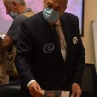 مؤتمر صحفي للهيئة العليا للإغاثة لإيضاح آلية الكشف على المتضررين - محمد سلمان