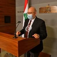 مؤتمر صحافي لوزير الصحة العامة فراس الأبيض في السراي الحكومي - محمد سلمان