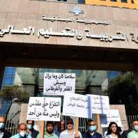 وقفة احتجاجية لمتعاقدي الجامعة اللبنانية – محمد سلمان