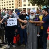اعتصام أهالي الطلاب المغتربين للمطالبة بإقرار قانون الدولار الطالبي - محمد سلمان